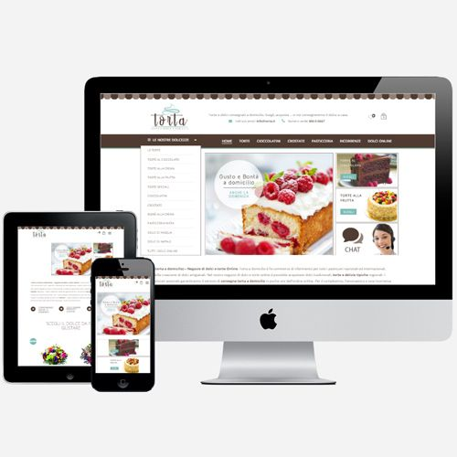 Torta.it: E-commerce vendita dolci online